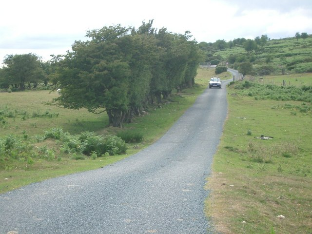 Road near Stiperstones