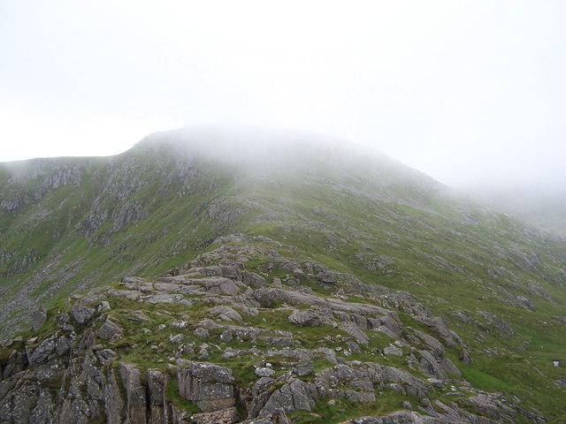 The East Ridge of Sgurr nan Coireachan