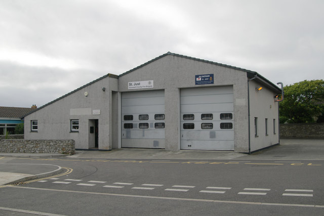 St Just fire station