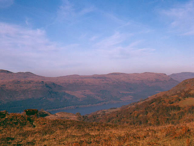 View of Loch Ness with Carn Doire Chaorach on right