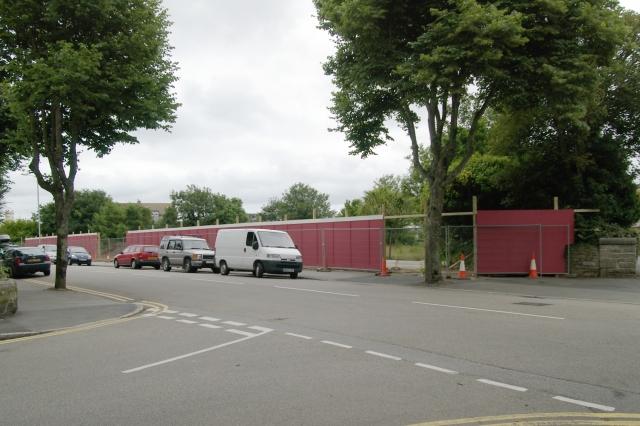 Building site, Alexandra Road, Penzance