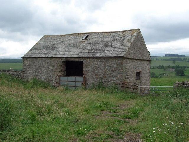 Roadside field barn