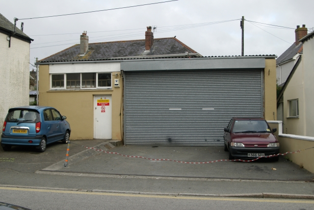 St Columb old fire station
