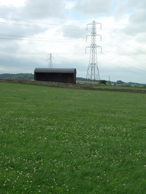 Pylons and Barn