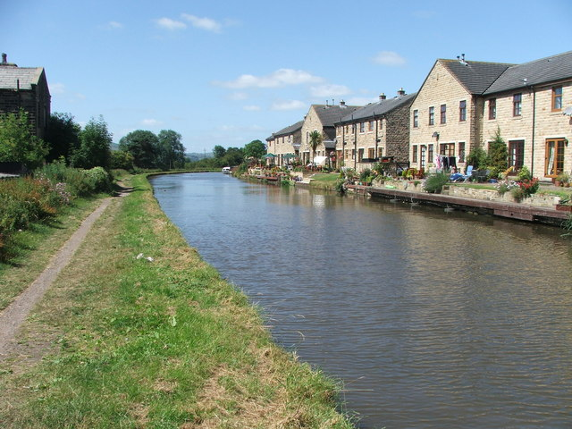 Leeds and Liverpool Canal at Silsden.