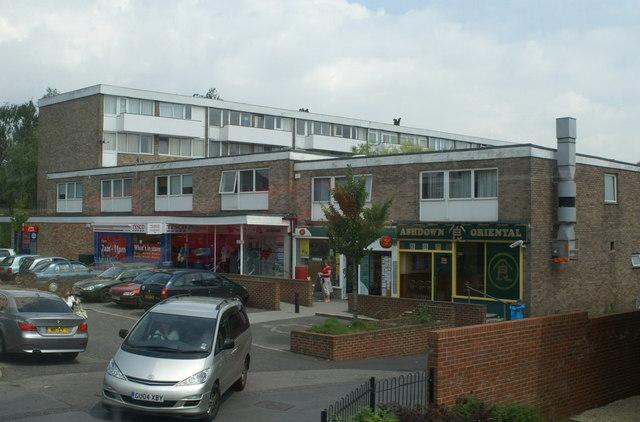 Shopping centre, Hiltingbury
