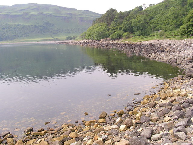 View of Carsaig Bay