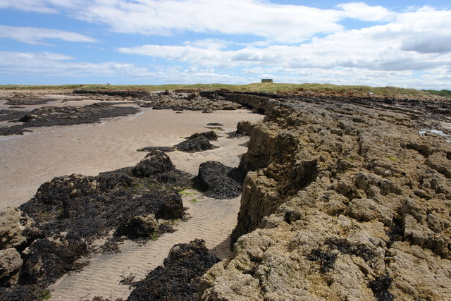 Rock Formation at Aberlady Point