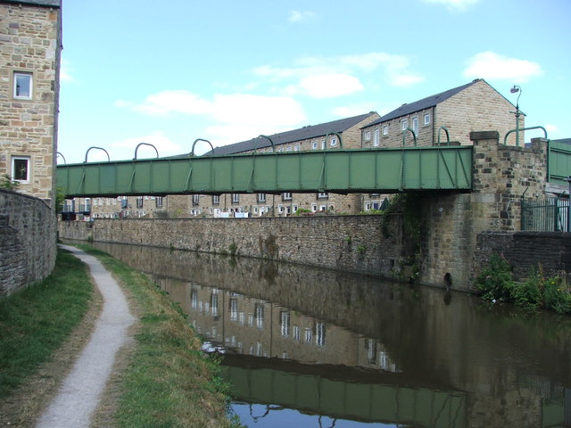 Leeds and Liverpool Canal at Skipton.