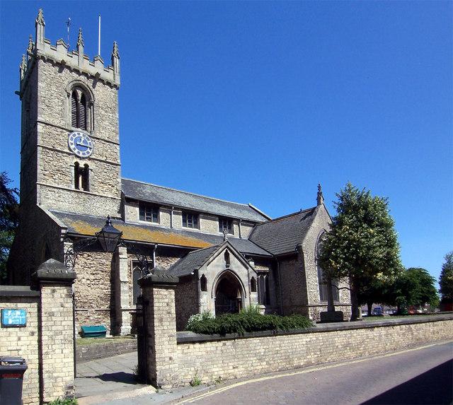 All Saints Church, Winterton