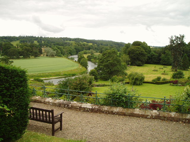 River Teviot from Monteviot House Garden