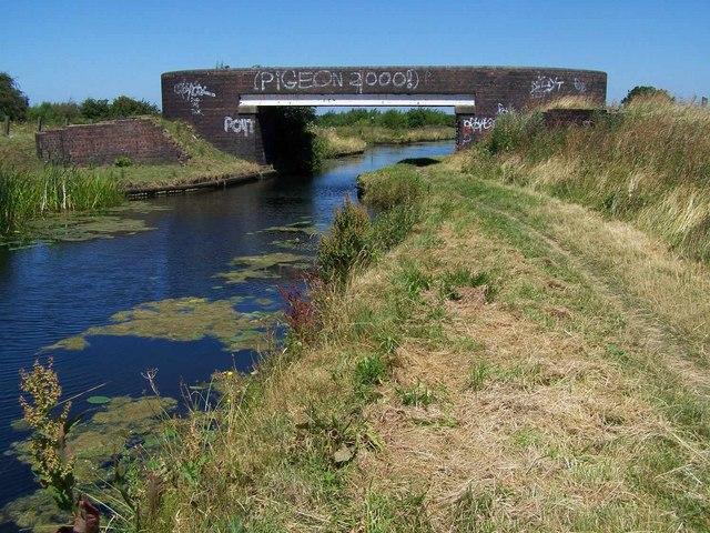 Footbridge at Fishley