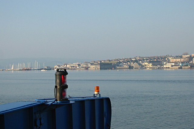 Torpoint in the Morning Sunlight