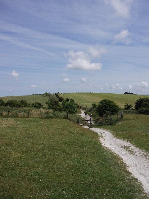 South Downs Way; Plumpton Plain