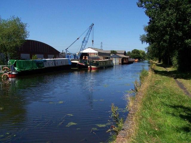 Norton Canes Boatyard