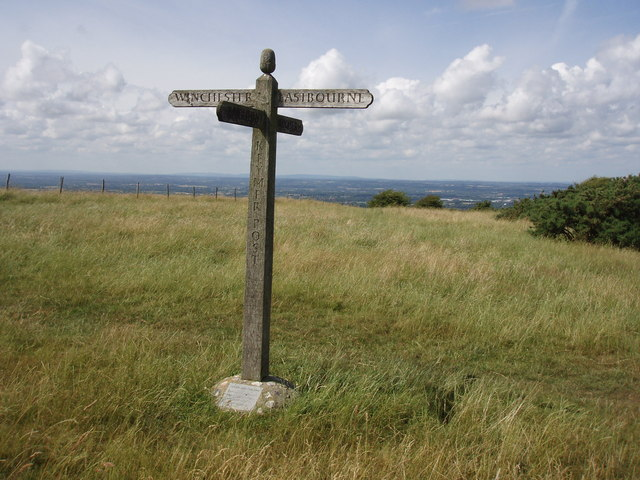 Keymer Post: South Downs way