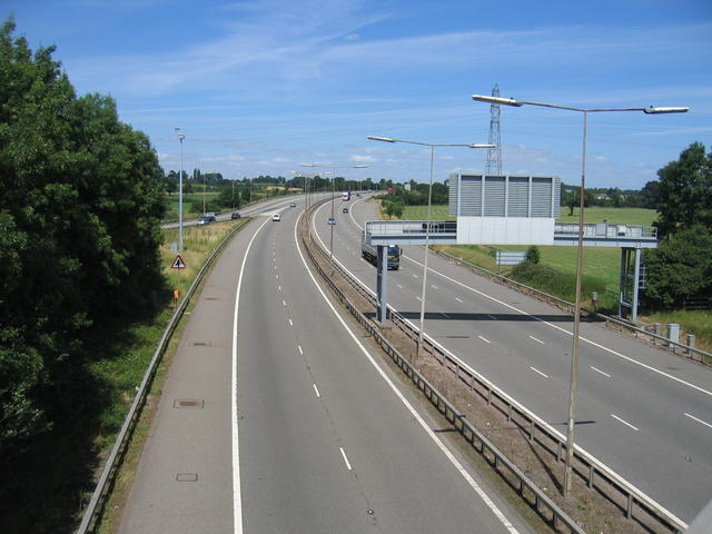 M69 at Ansty