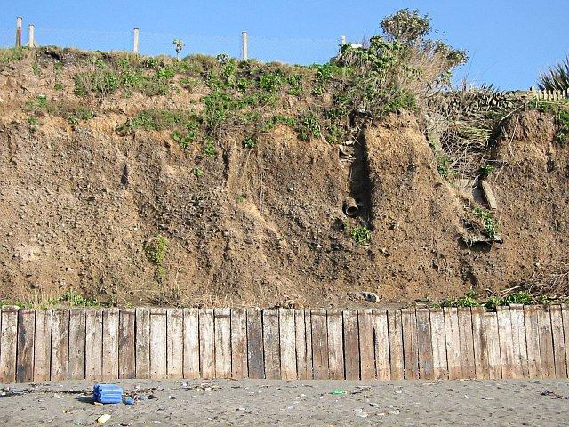 Sea Cliffs at Downderry