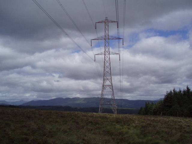 Pylon on Moor Park