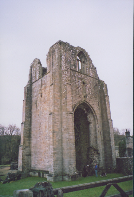 Tower of Shap Abbey
