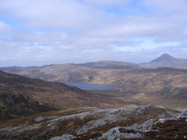 View from Meall a'Bhuirich