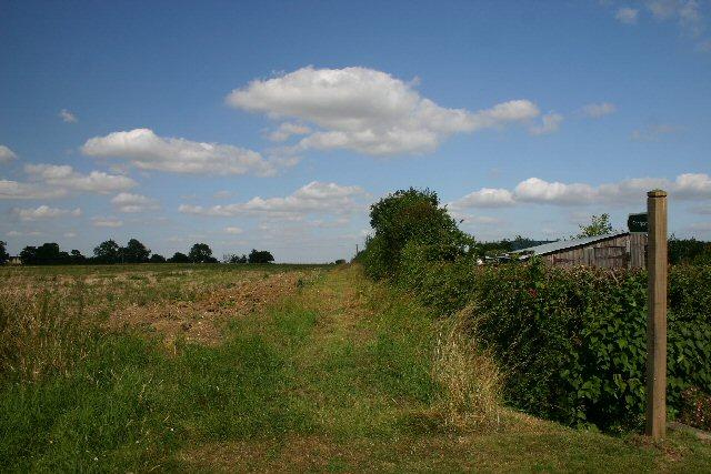 Footpath to Farley Green