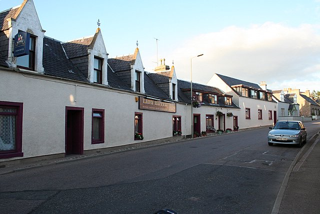 The Lion Hotel, Auldearn.