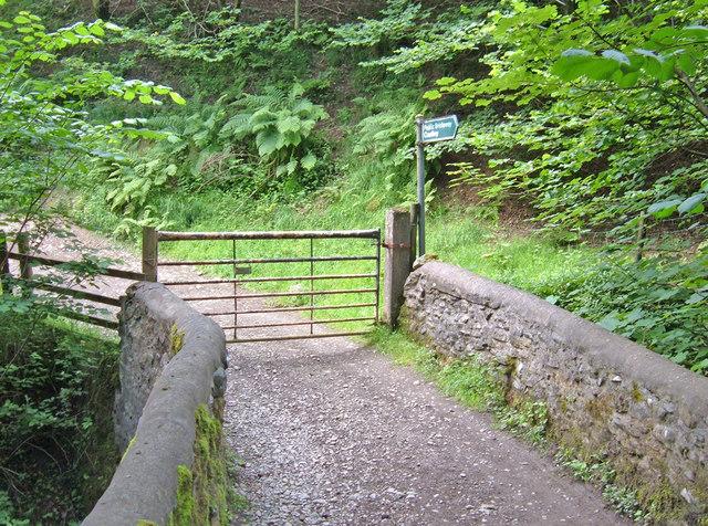 Bridge over Hobdale Beck