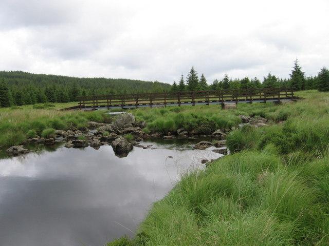 Bridge over Gala Lane