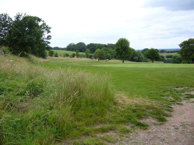 Golf course near Eaton