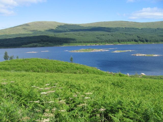 Across Loch Doon to Portmark