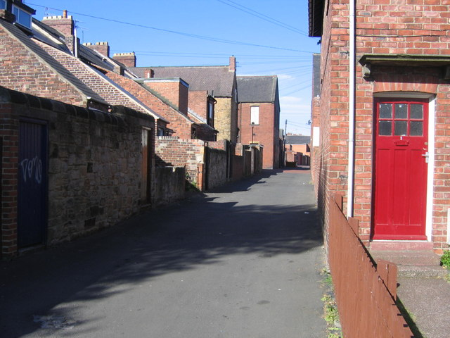 Musgrave Terrace Back Lane
