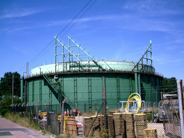 Gas Holder, Horley