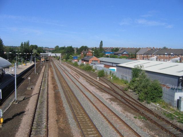 Pelaw Railway Lines