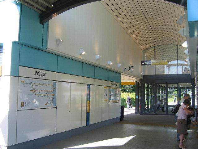 Pelaw Station Concourse