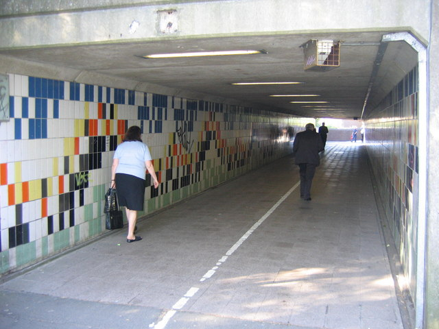 Well Used Subway To Heworth Metro