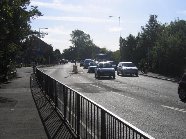 Start Of Shields Road A185