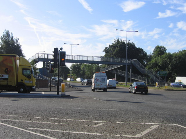 Footbridge Over A184