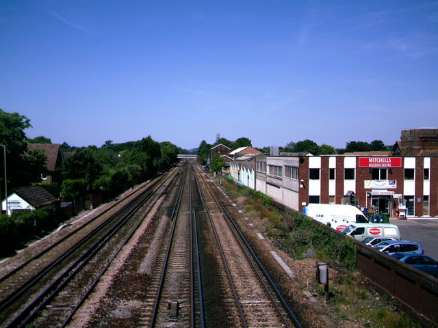 Railway Track at Horley