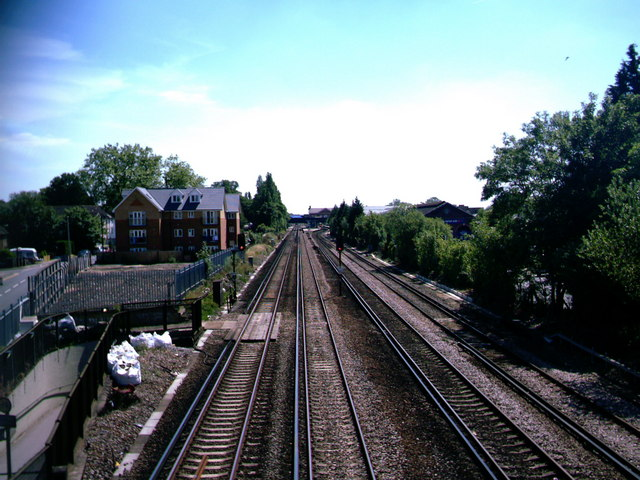 Railway Track at Horley