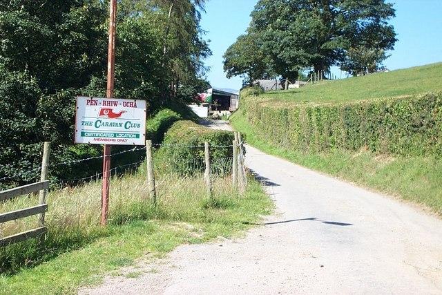 Penrhiw Uchaf  farm