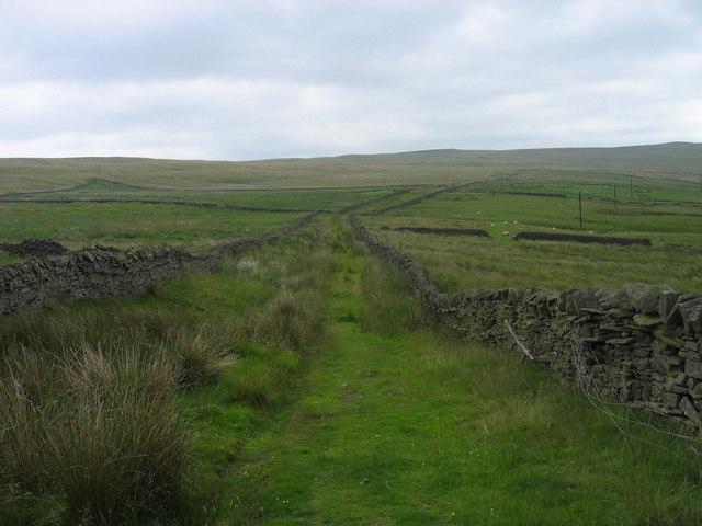 Bridleway/Green Lane near Middle Edge