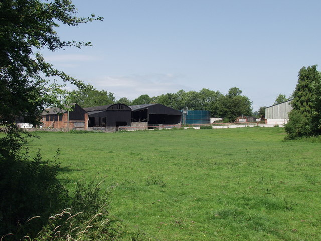 Dairy buildings at Hindford
