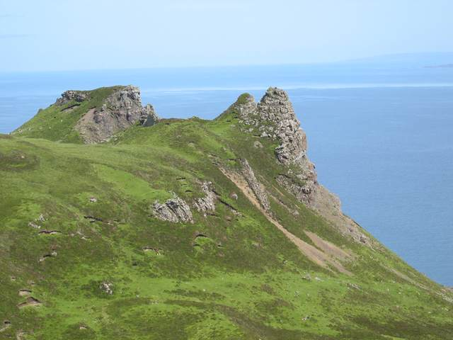 East side of Ben Tianavaig