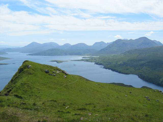 South ridge of Ben Tianavaig