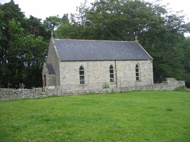 Wesleyan Chapel near Hollybush