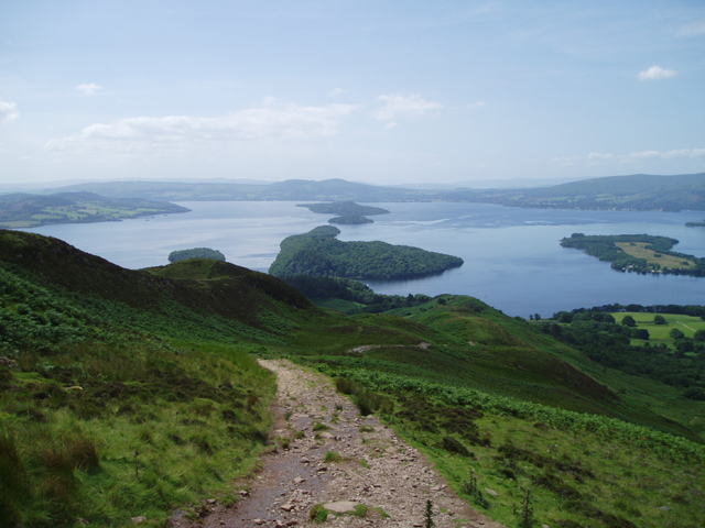 Loch Lomond from The West Highland Way