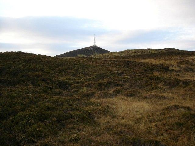 View towards Cnoc Malagan