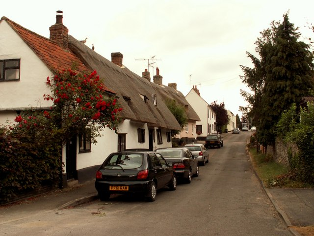 Cottages at Linton, Cambridgeshire