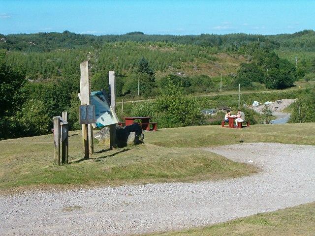 Picnic place at Dunardry